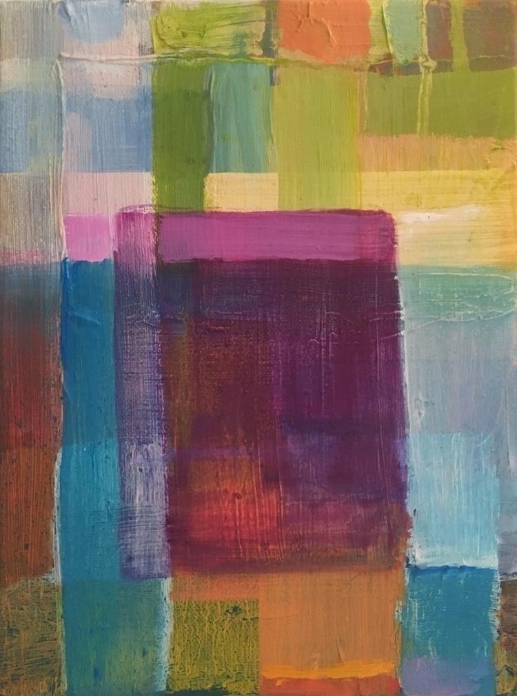 Oil painting 18x24 cm. zoo Antw - geertjadoul | ello