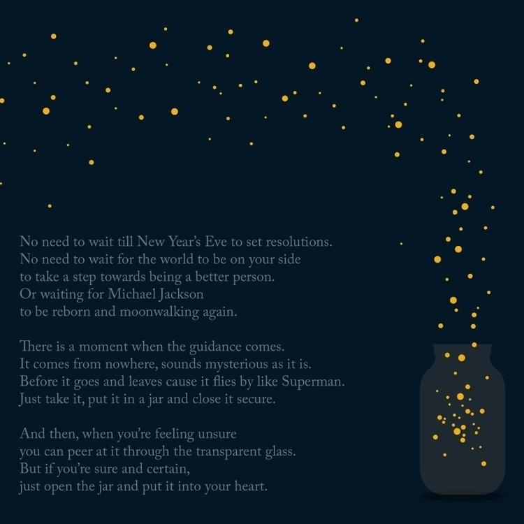 Resolution - writing, poem, newyears - kurtaspaharo | ello