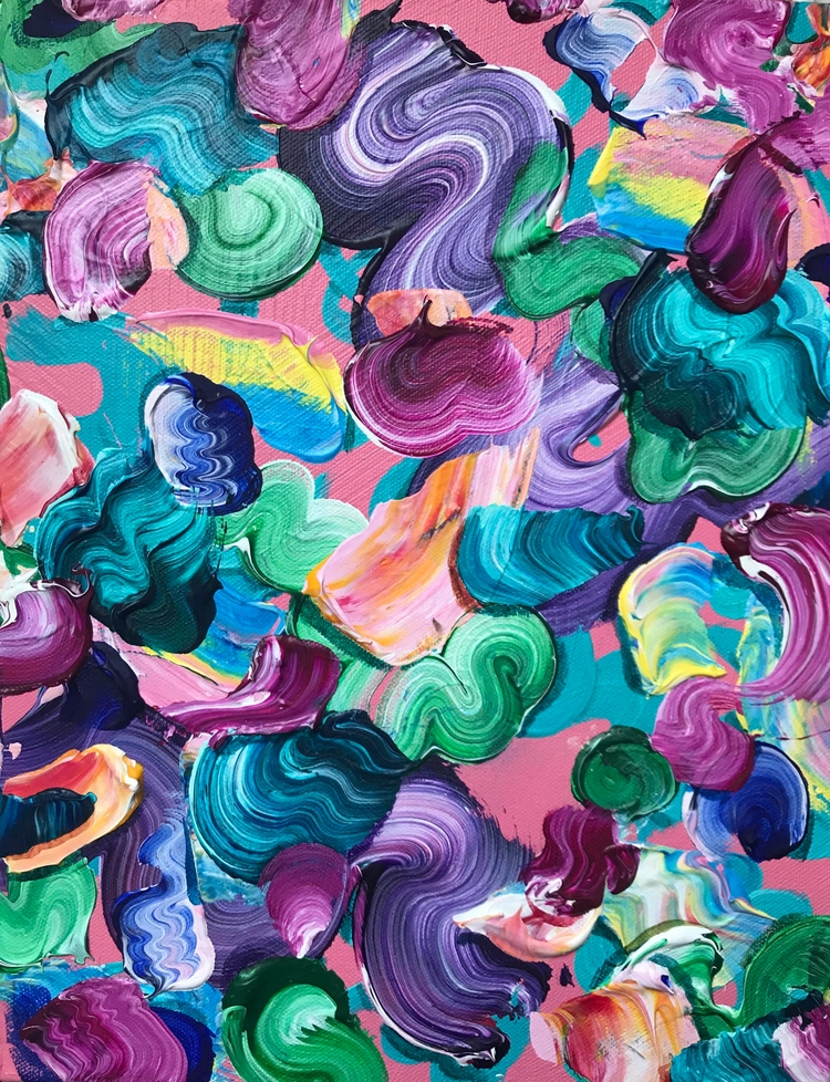 Numbing, 11 14, acrylic canvas - dhuston | ello
