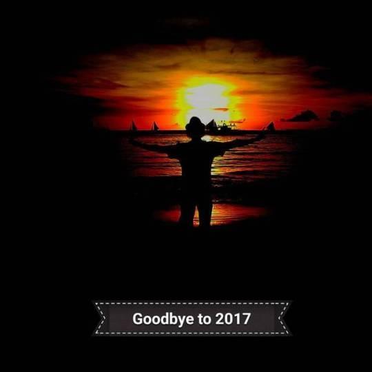 GoodbyeTo2017, LastSunset2017 - vicsimon   ello