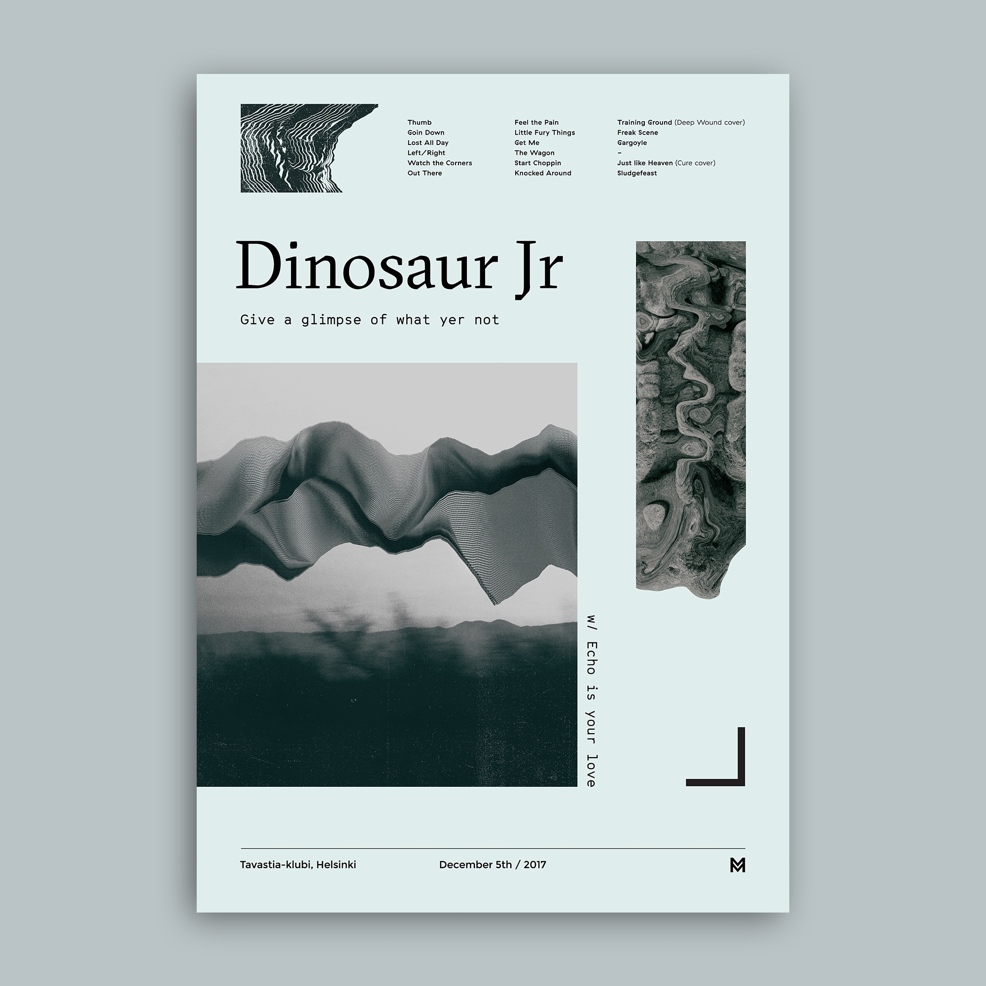 Gig poster project - Dinosaur J - mcinen | ello