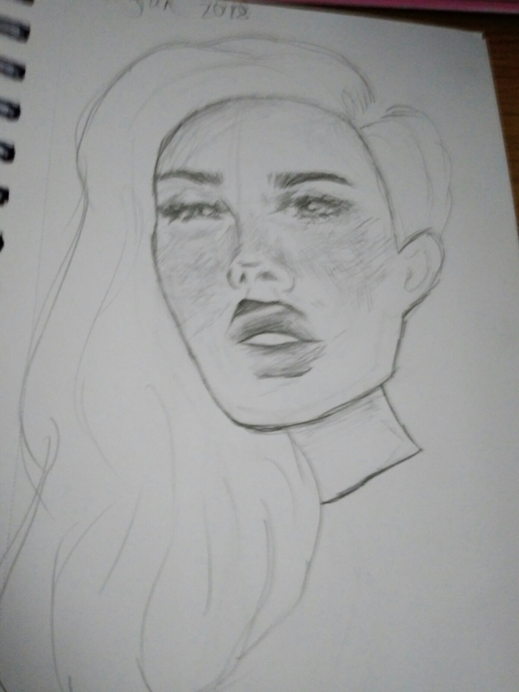 friend fee! hmu drawing xxx - portrait - iriterpe | ello