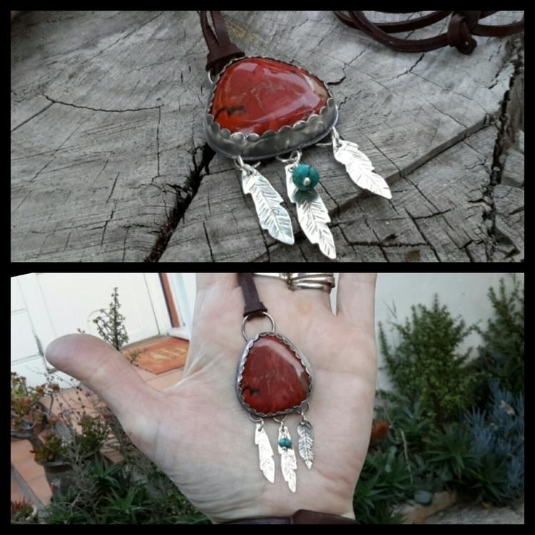Dreamcatcher inspired pendant J - dangbravegirl | ello