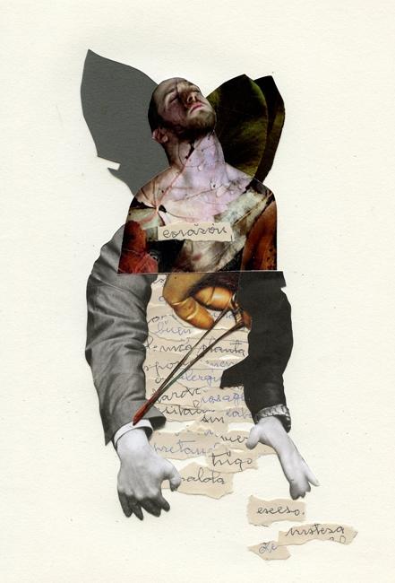 Imanol Buisan collage artist Ba - imanolbuisan | ello