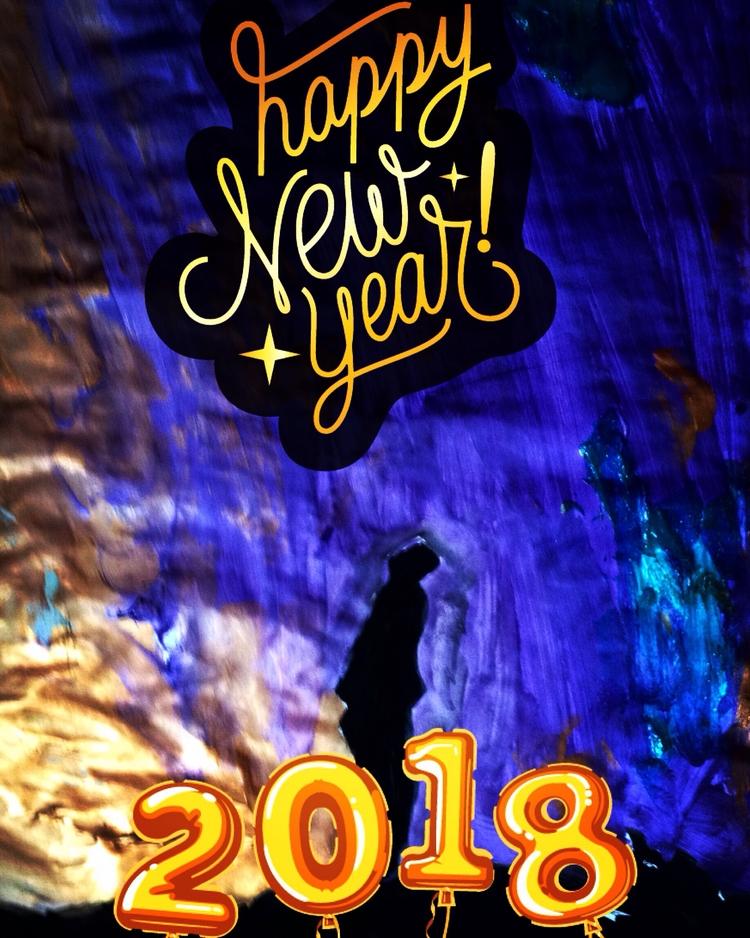 HAPPY YEAR 2018 Love Art Wonder - loveartwonders | ello