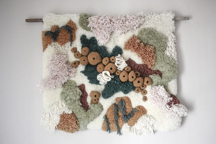 Portuguese textile artist Vanes - fumogallery | ello
