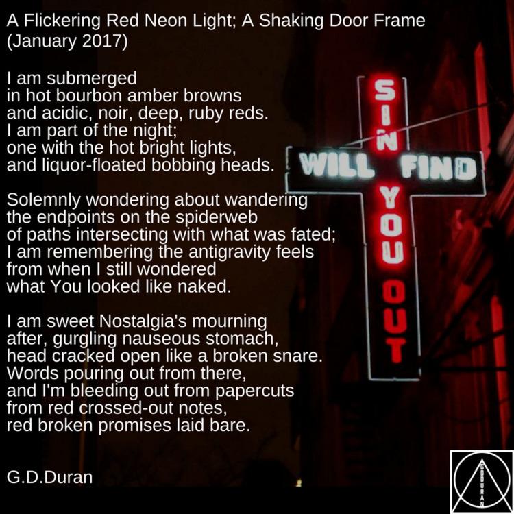 Flickering Red Neon Light, Shak - gdduran | ello