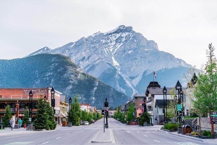 town Banff Alberta, Canada - shellcreekphoto | ello