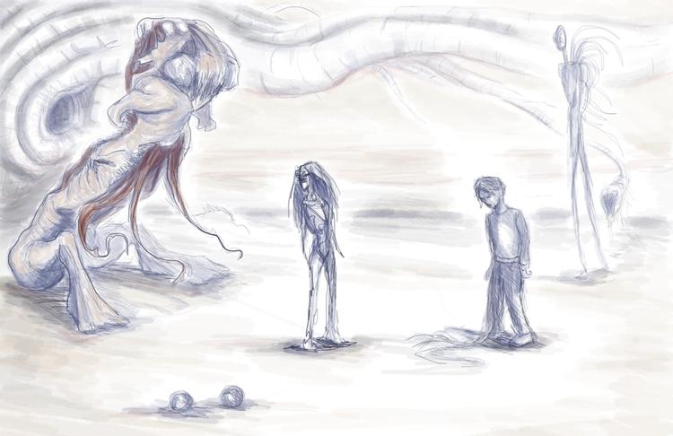 creature sketch vaginoplasty. r - nikita_r   ello
