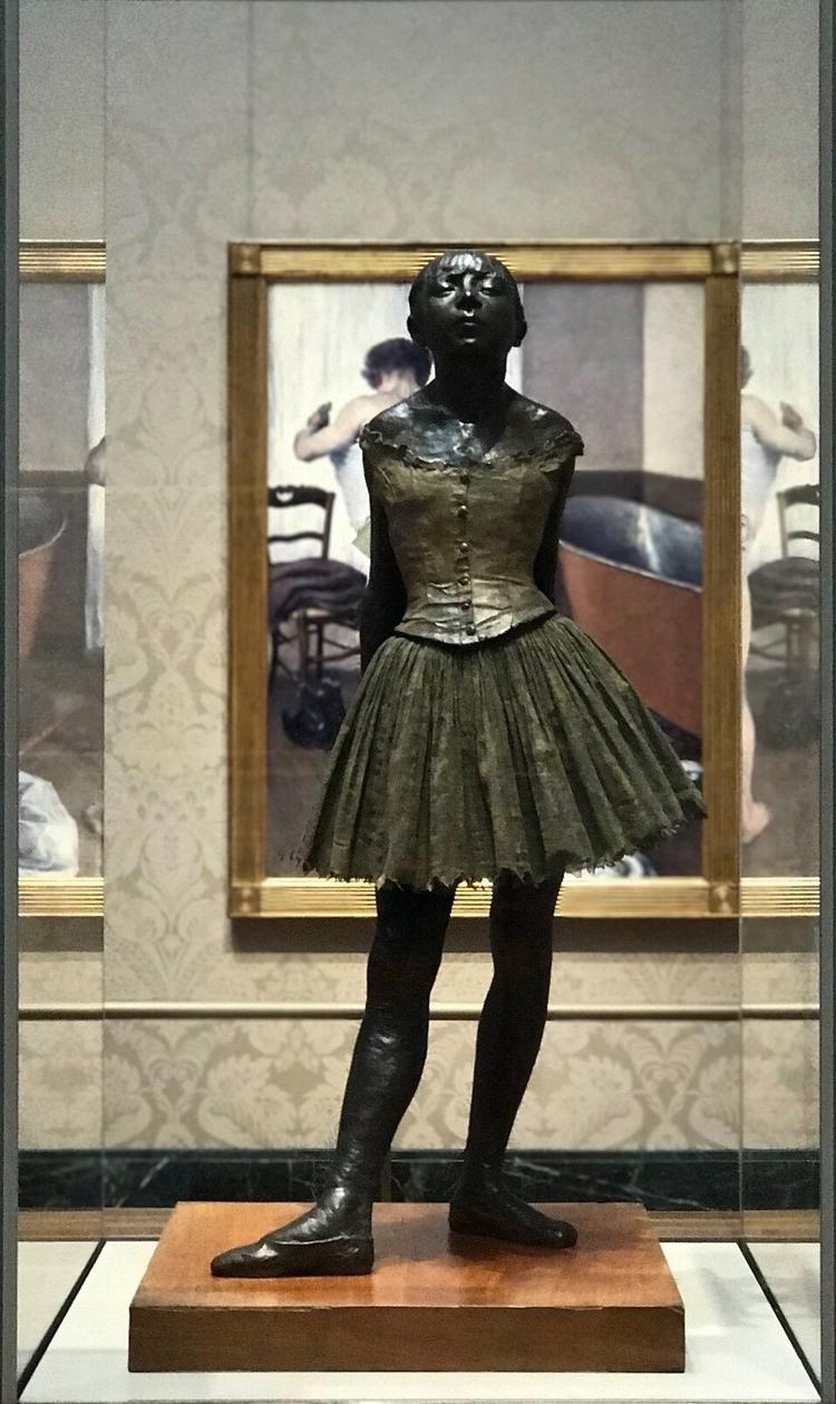 Dancer Edgar Degas 1880 - degas - bitfactory | ello
