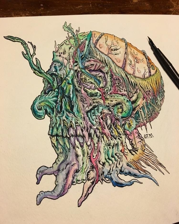 Passing time - illustration - albertmontoya | ello