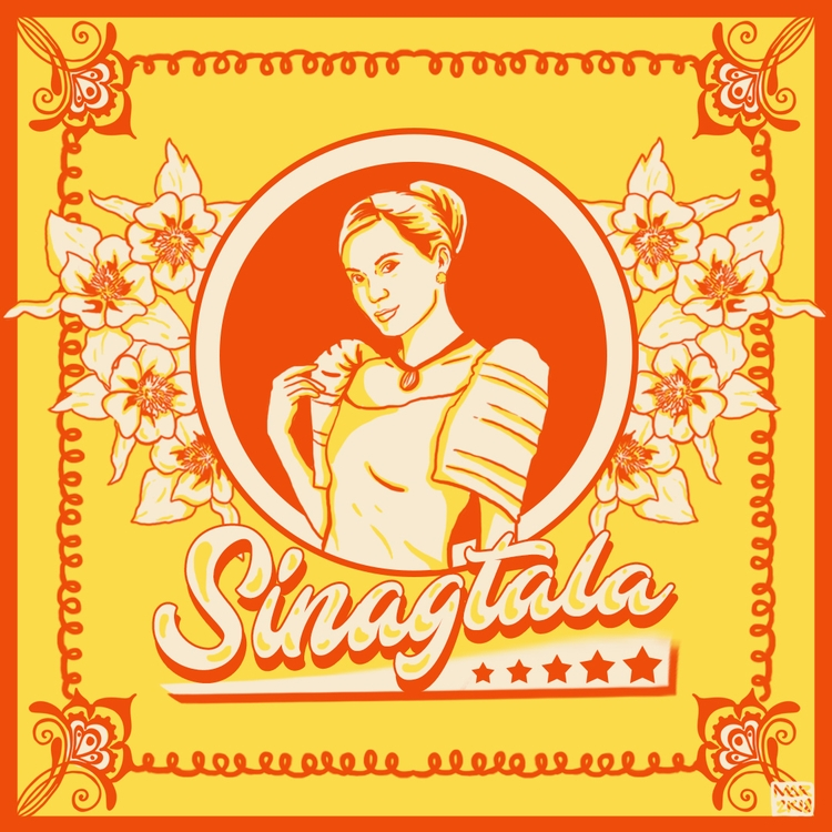 illustration year! Sinagtala - Filipina - angmaarte | ello