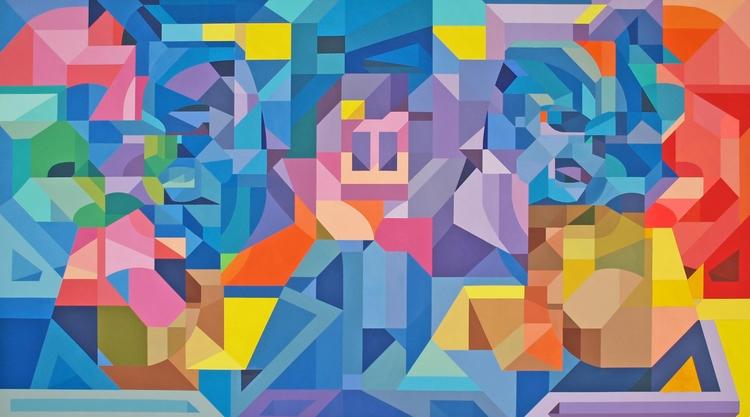 Wall Acrylic canvas, 87x46 inch - 11411141 | ello