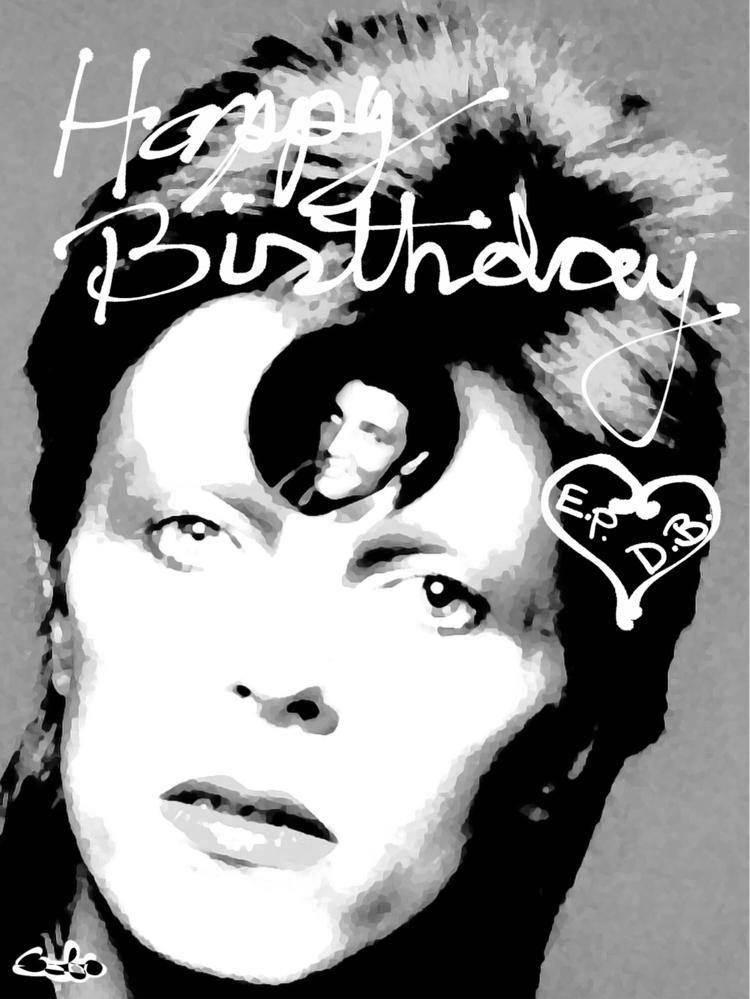 HappyBirthday,, Elvis, Bowie! - bobogolem_soylent-greenberg | ello