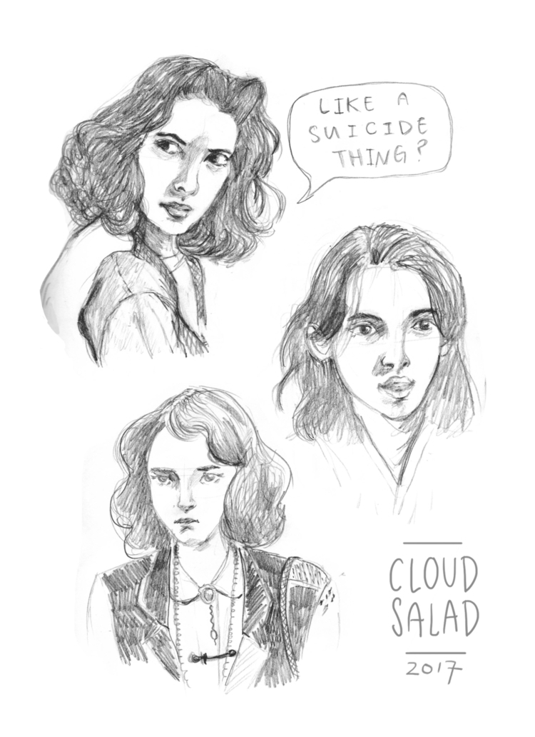 sketches Winona Ryder Heathers - cloudsalad | ello