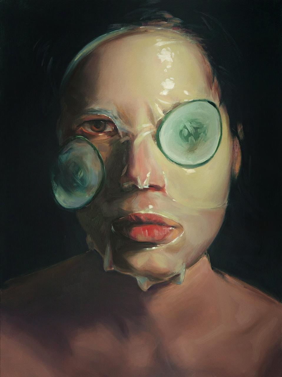 Artist Statement: Mask series p - megankoth | ello