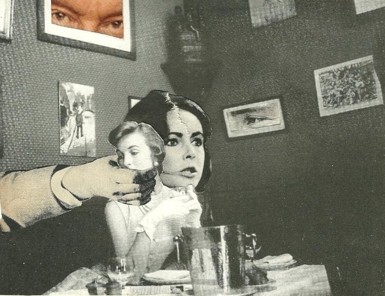 Nice - collage paper Deborah St - deborahstevensonartist   ello