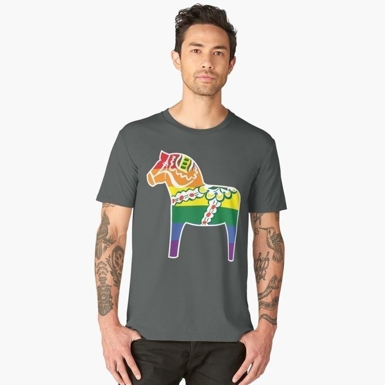 traditional Dala horse, Gay pri - kaimetsavainio   ello