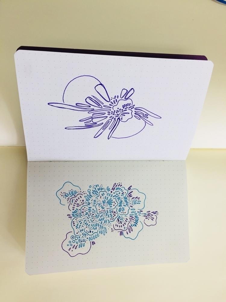 sketchbook, doodle - merr | ello
