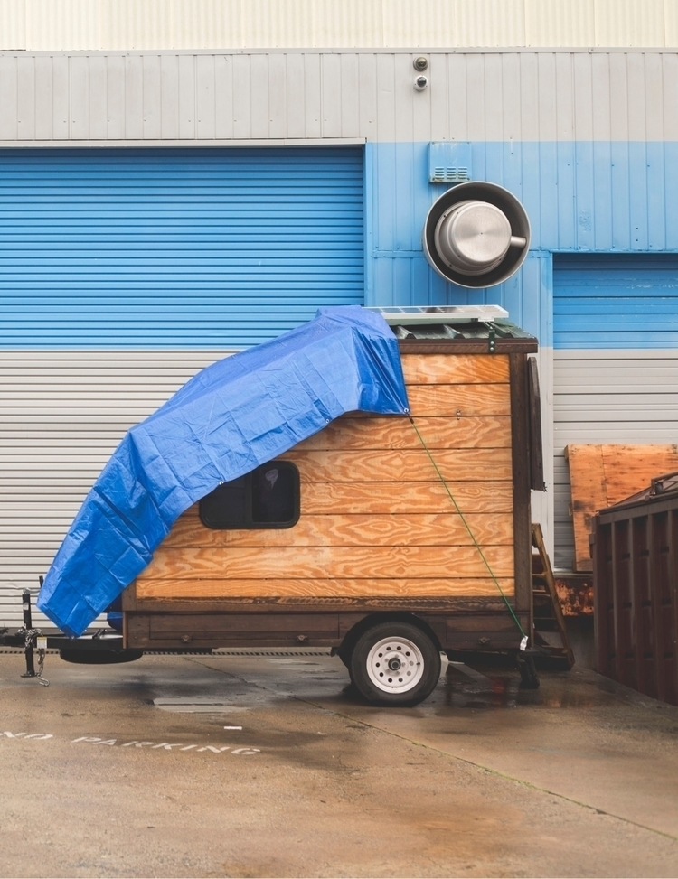 Tiny House - photography, raining - kevinbiram | ello