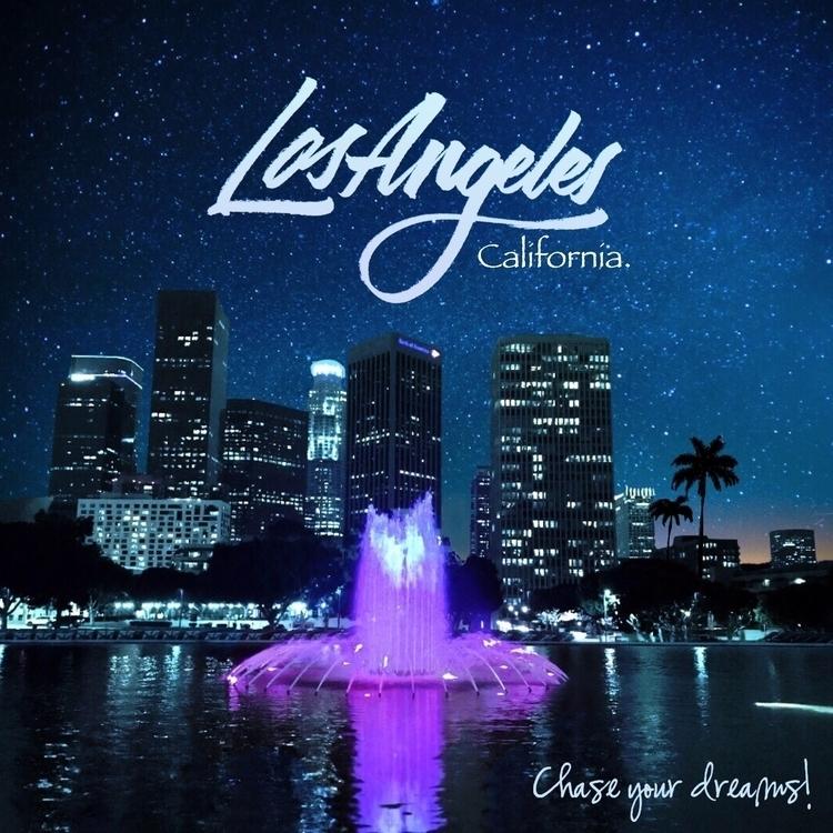 Los Ángeles California! Chasing - noblewolf | ello
