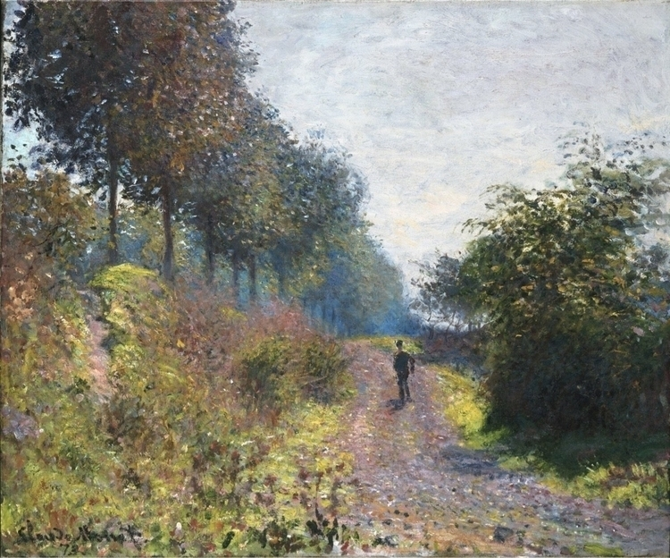 Sheltered Path Claude Monet 187 - bitfactory | ello
