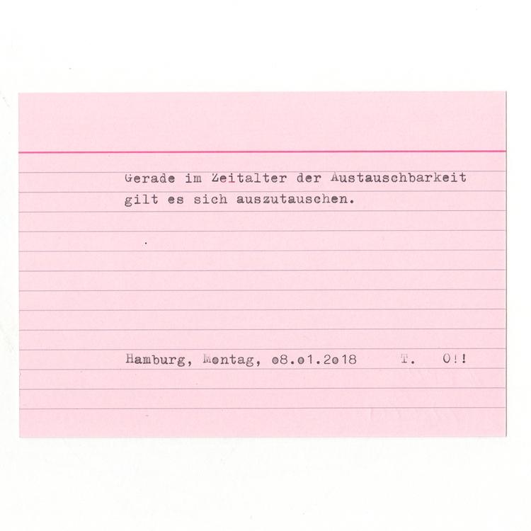Karte 280 _ Typewriting Text fi - tinavonhase | ello