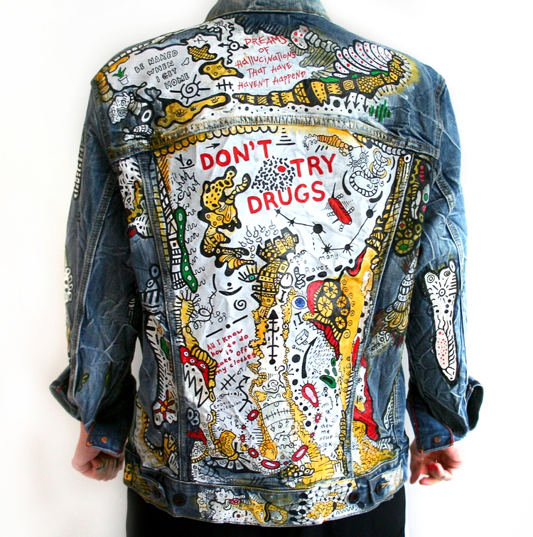 jeans jacket - fashion, art - jsilverhoof | ello