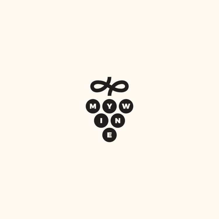 Logo design MyWine - logo, thirtylogos - jessepyysalo | ello