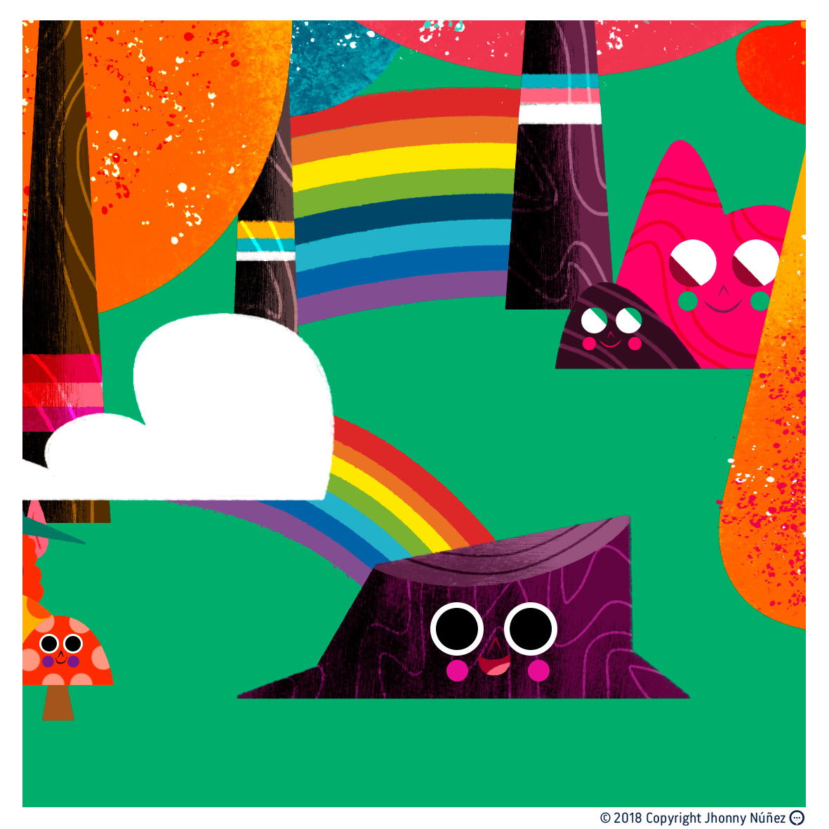 Rainbows geroge magazine - JhonnyNúñez - dblackhand | ello