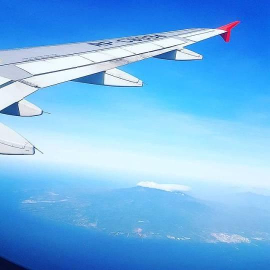 Philippines aboard plane enrout - vicsimon | ello