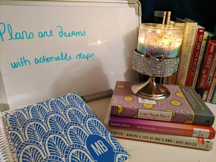 ritual, routine helps feel agen - mlleghoul   ello