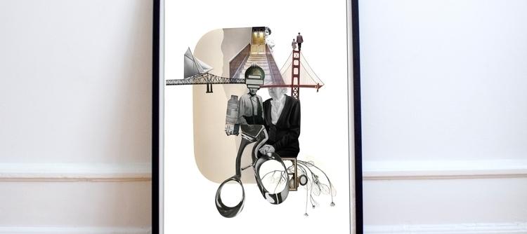 Digital Collage - collage, art, ellocollage - marciaalbuquerque | ello