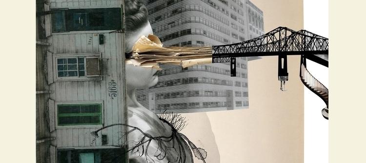 Digital Collage - collage, art, ellocollage - marciaalbuquerque   ello