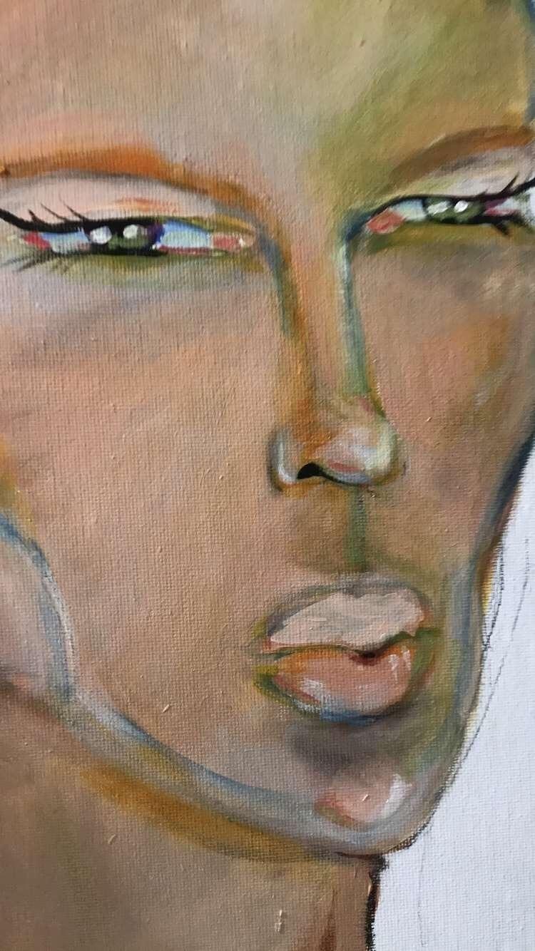 Acrylic painting, focusing colo - vp-art | ello