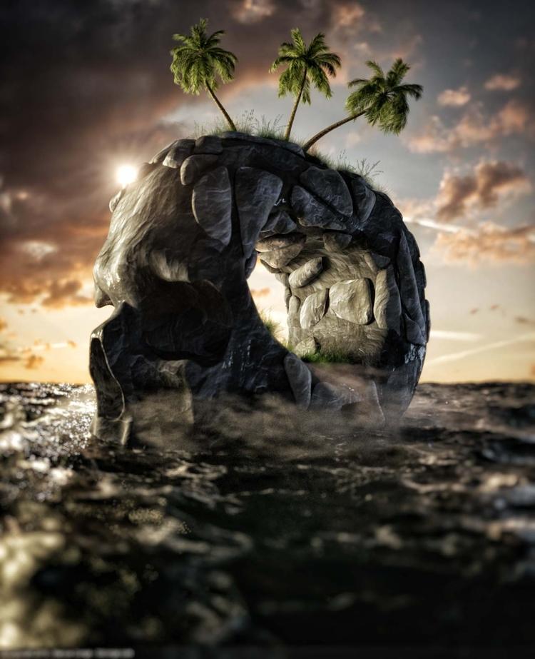 Drink Water - Trypogen, cinema4d - rockingthepixel | ello