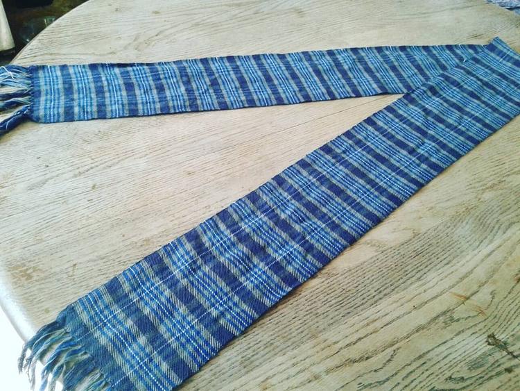 Handwoven tartan, design. tradi - valentinacano | ello