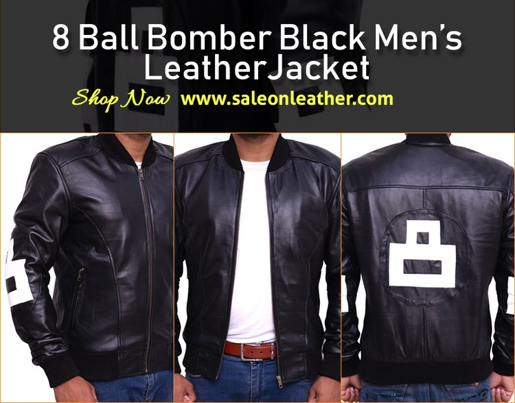 Buy Online 8 Ball Black Bomber  - johnsmith121617 | ello