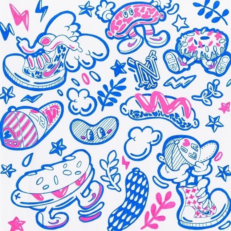 Sketchbook TWITTER / INSTAGRAM  - beatoa | ello