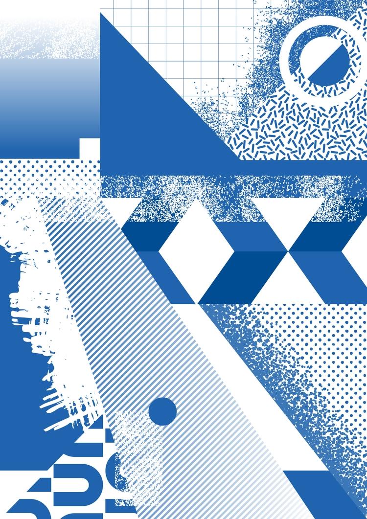 abstract, art, illustration, design - ikyste | ello