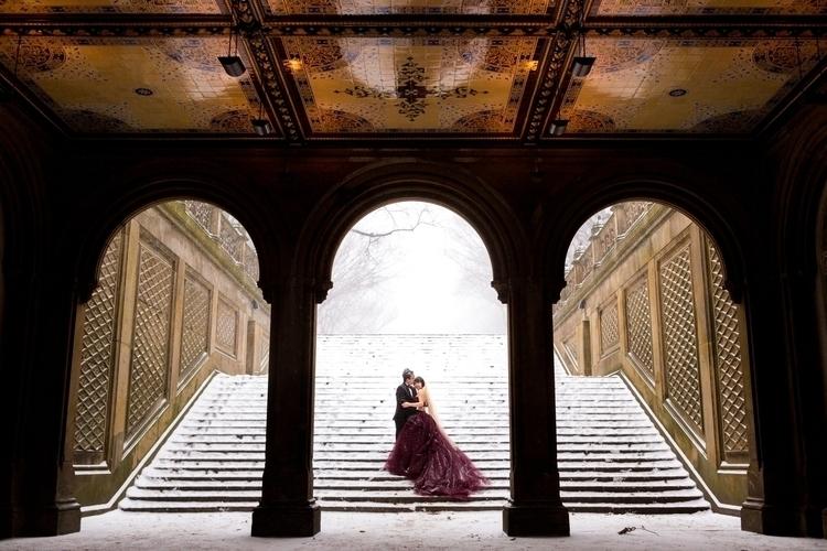 White Wedding Central Park, NYC - peligropictures   ello