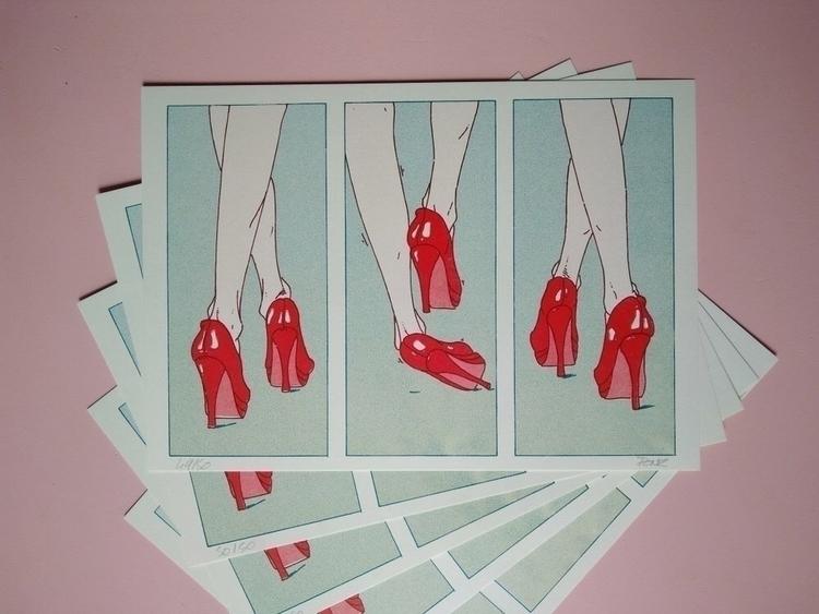 Limited edition 50 prints Risog - loicmovellan   ello