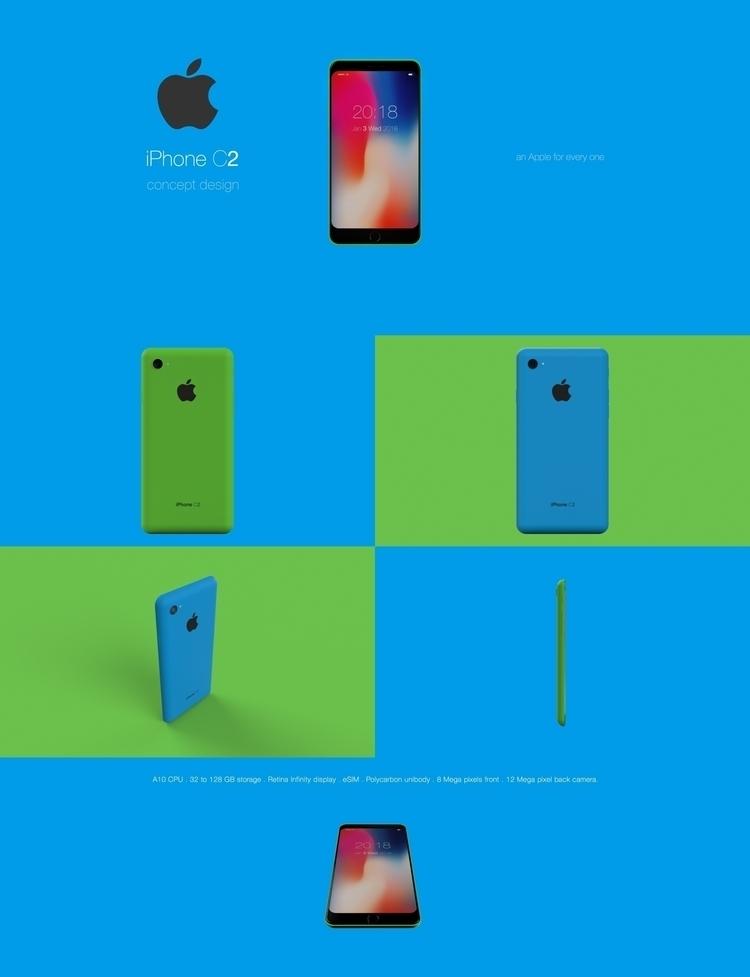 iPhone C2 concept design. Submi - emrahserdaroglu | ello