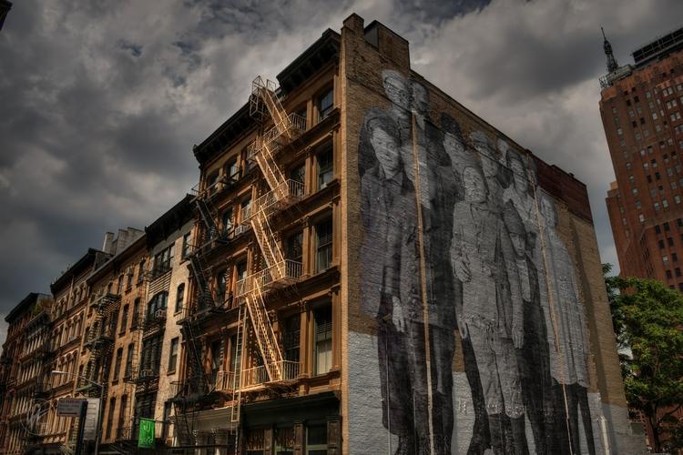 NYC - Tribeca 001 mural Ellis I - lancevaughn | ello