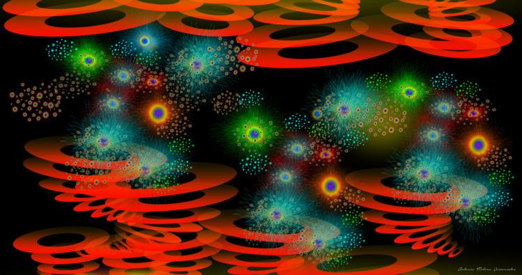 POLINIZACION 4 (Arte Digital - anmova | ello