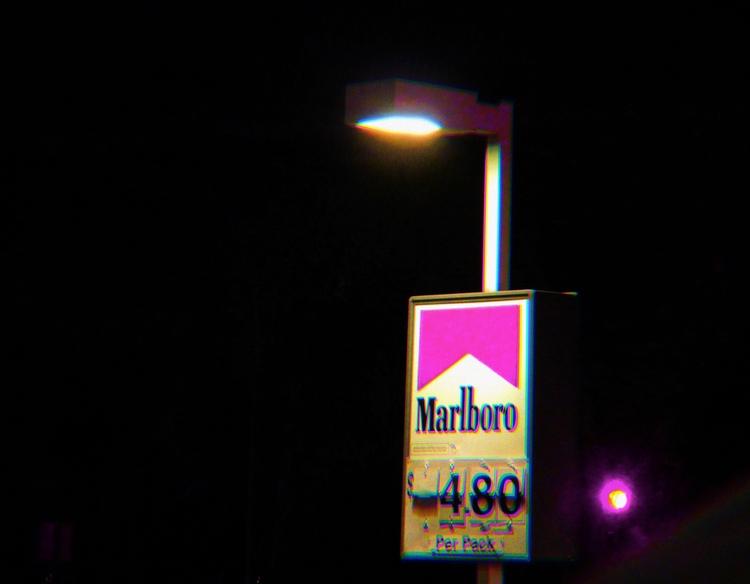 Smoking kills - edit, night, photography - mianojo | ello