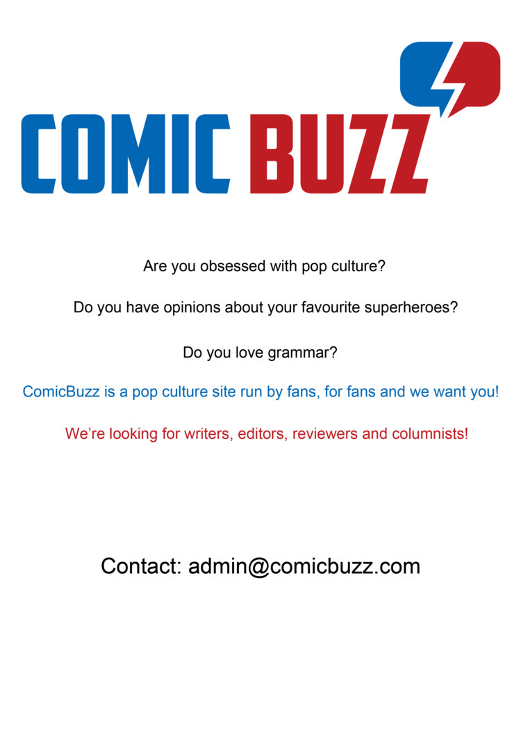 grow team ComicBuzz - writers, editors - comicbuzz | ello