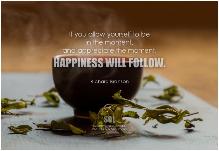 moment, happiness follow. Richa - symphonyoflove | ello