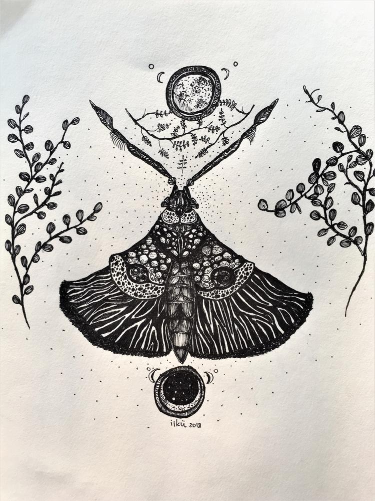 Menuliu Sargas, 2018 A4 Ink pap - iikuu | ello