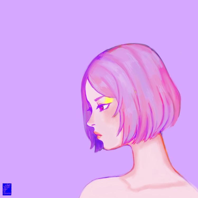 Marshmallow - illustration, digitalart - sirinezou   ello